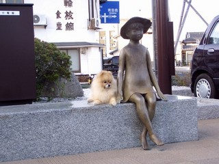 長門市駅前少女ブロンズ像_JALAN_101202.jpg